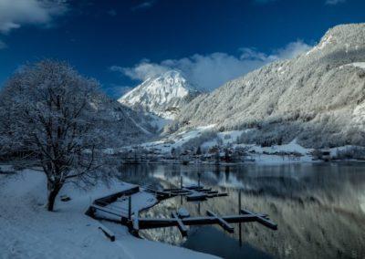 Winter Steg